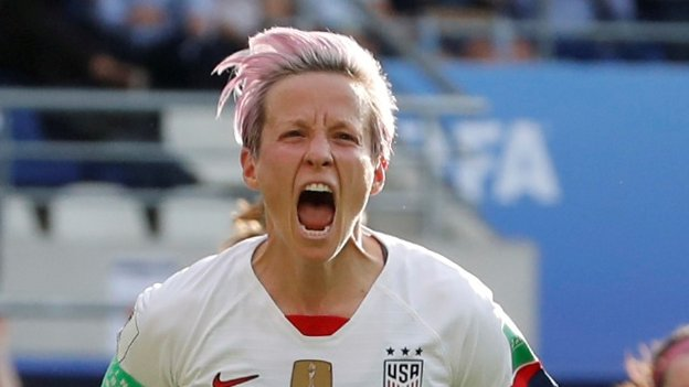 Women's World Cup: France v USA could be 'wild and crazy' - Megan Rapinoe