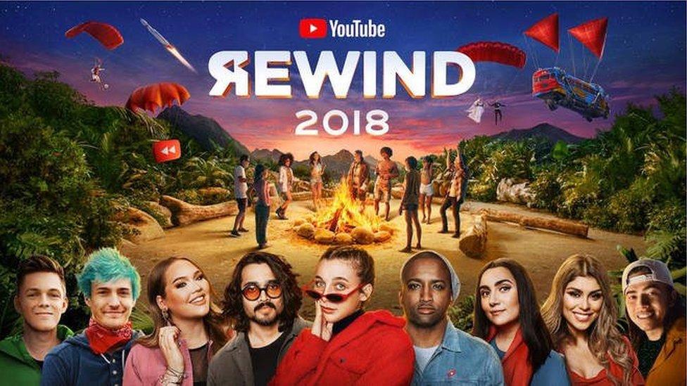 Naslovna fotografija YouTube Rewind 2018