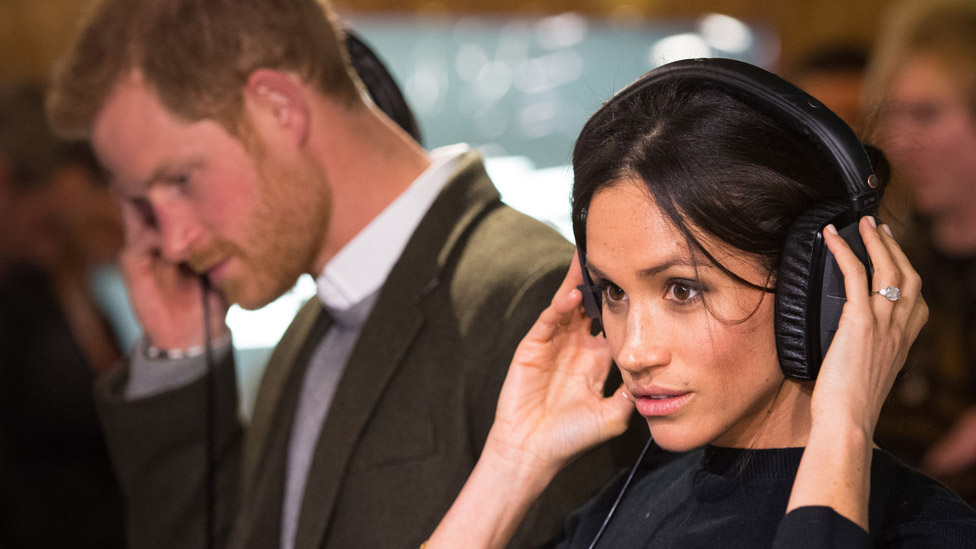 The Duke and Duchess of Sussex pictured in 2018