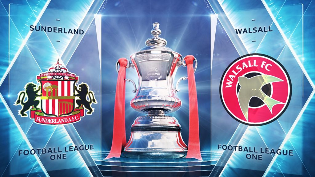 FA Cup Second Round Replay: Sunderland 0-1 Walsall