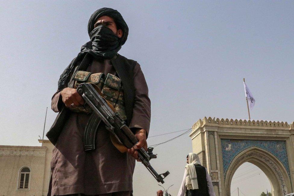 مسلح من طالبان