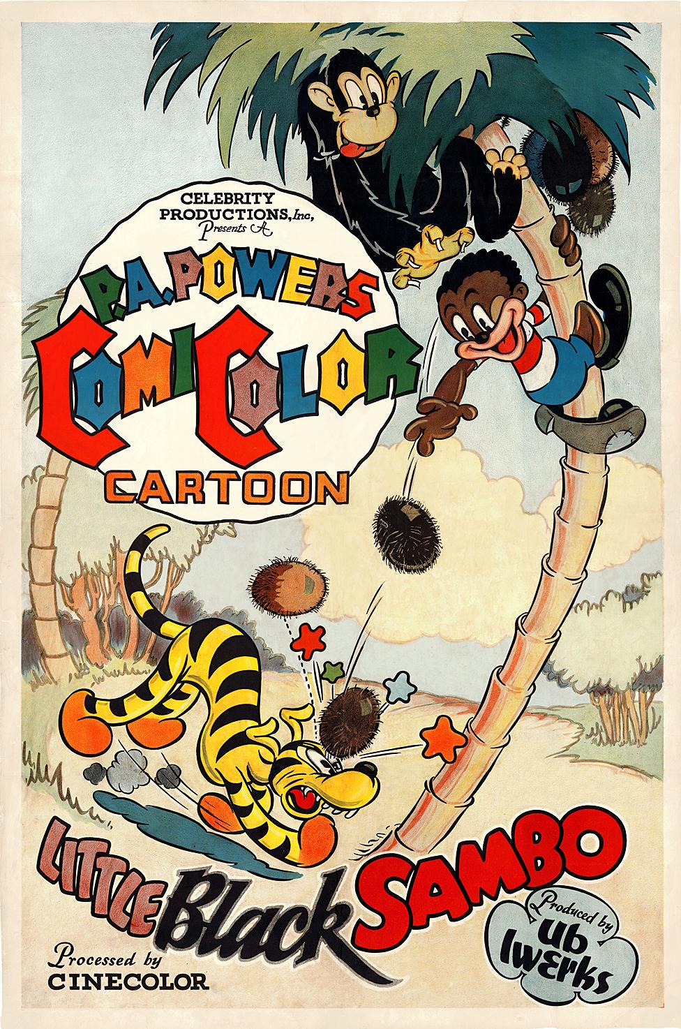 Afiche de promoción del uno de los libros de Sambo.