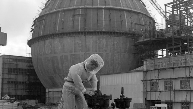 Man working at Dounreay