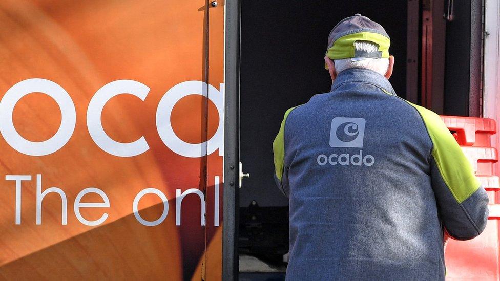 Ocado delivery driver
