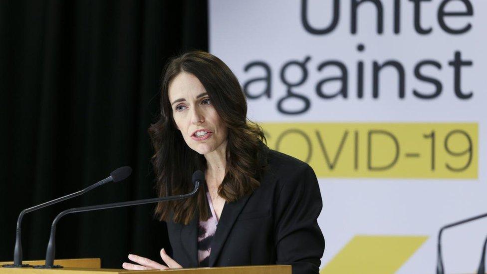 رئيسة وزراء نيوزيلندا جاسيندا آرديرن