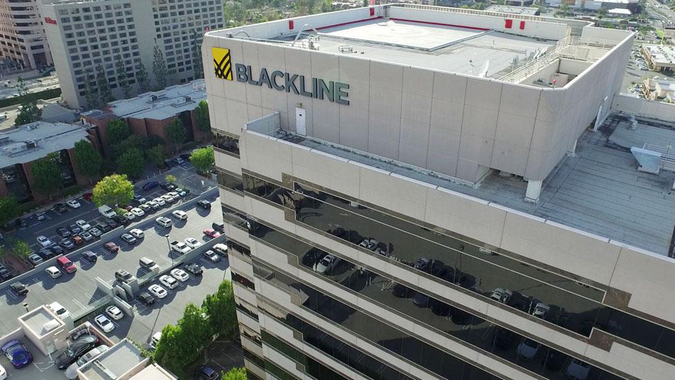 Sede de BlackLine en Los Ángeles.