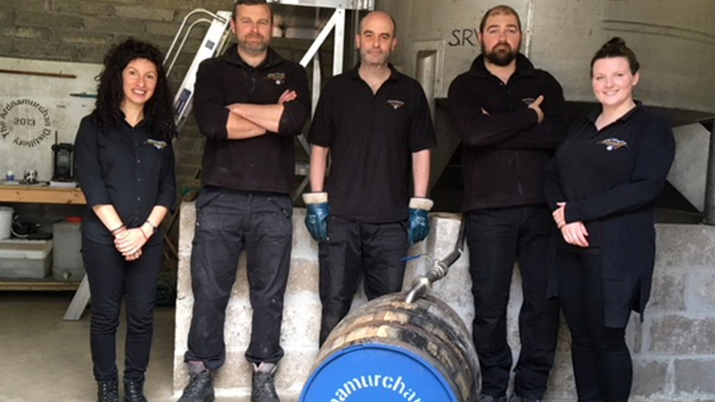 Children in Ardnamurchan given whisky cask investment