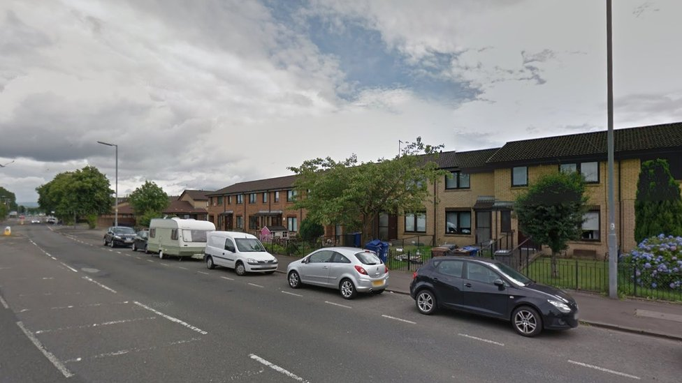 Paisley couple attacked by men in white forensic suits