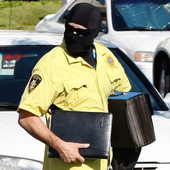 Un agente de la DEA