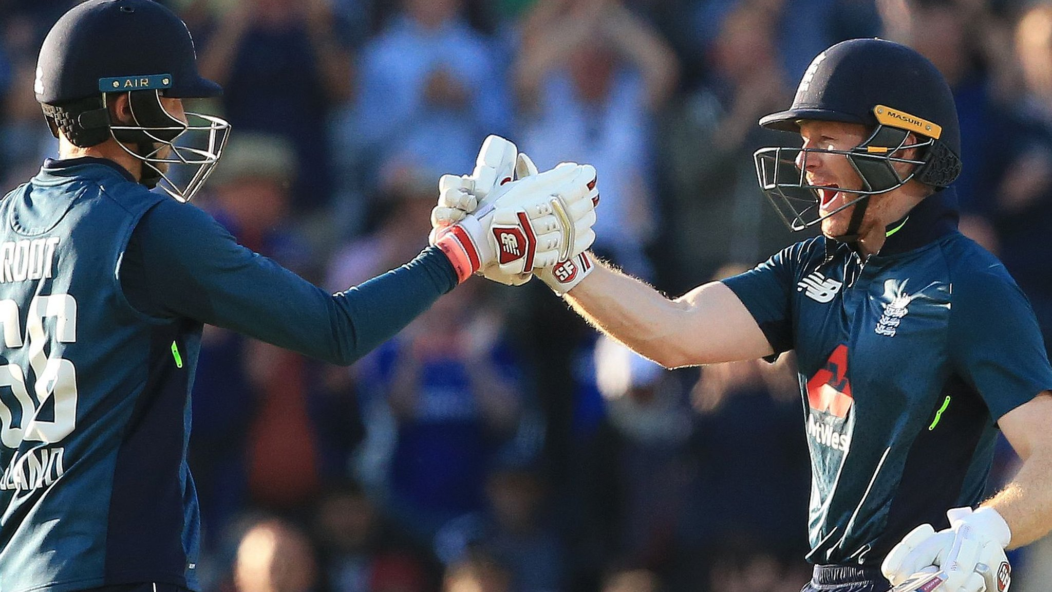 England v India: Rashid, Root & Morgan star as hosts win ODI series