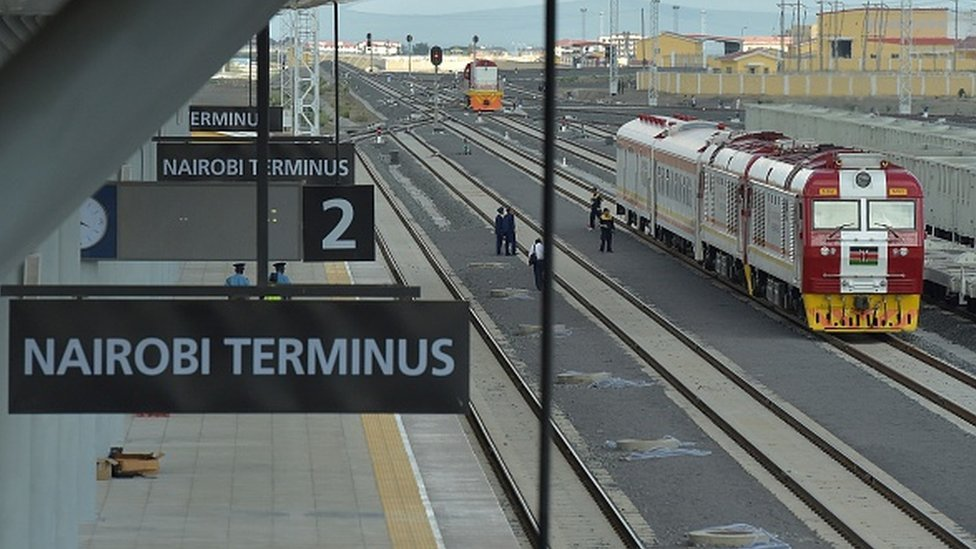 Kenya's new railway line