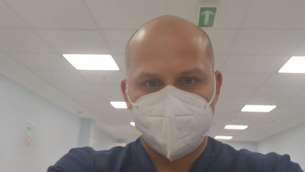 Marko Mladenović u bolnici