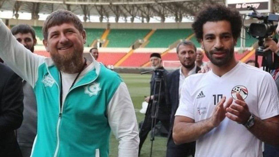 قديروف ومحمد صلاح
