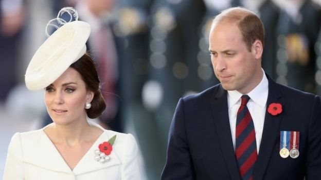 Catherine Middleton y el príncipe William