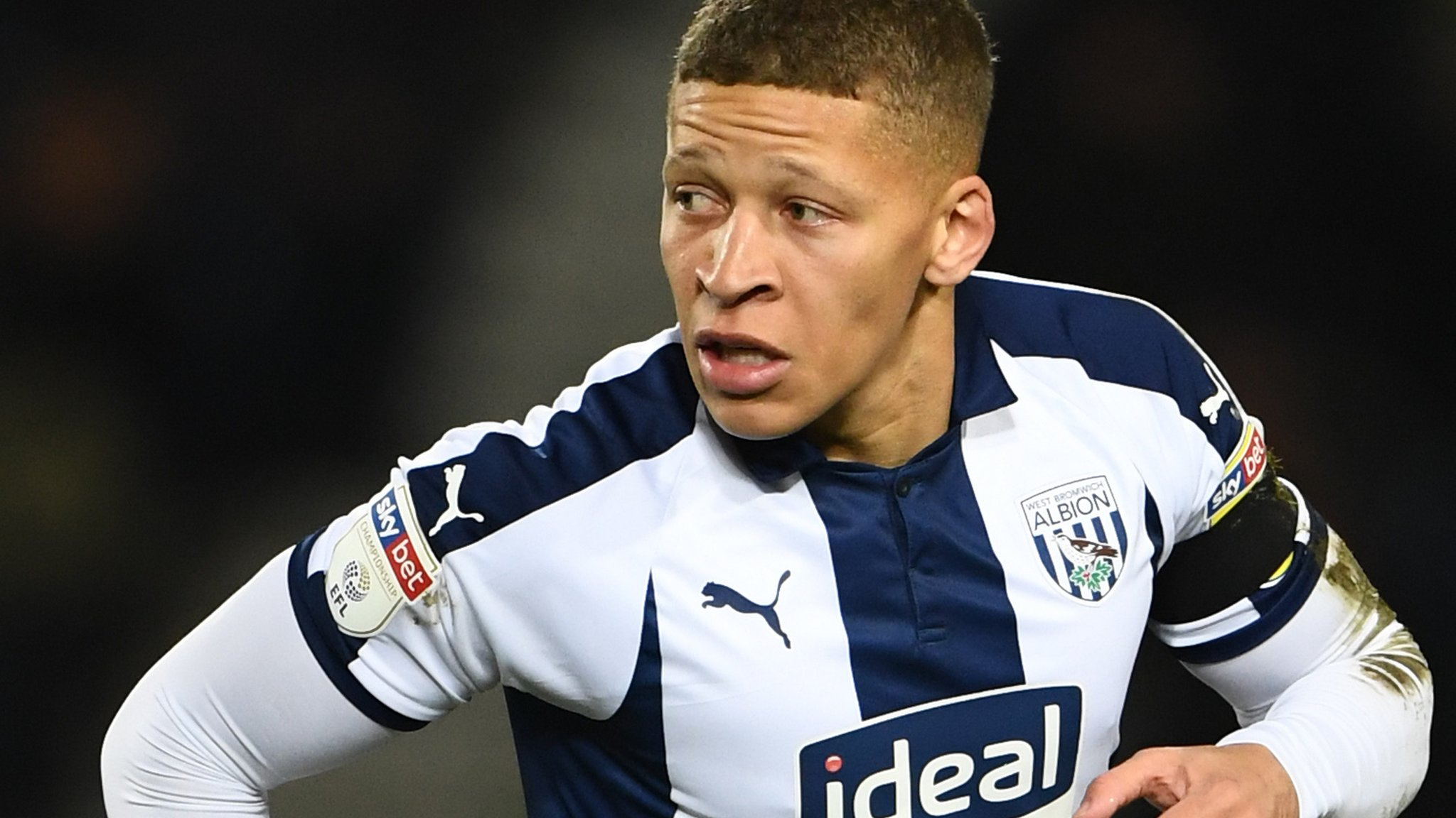 Dwight Gayle: West Bromwich Albion striker charged with 'diving'