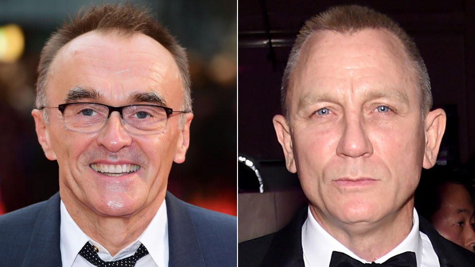 Danny Boyle and Daniel Craig