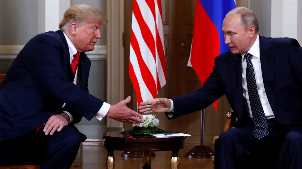 Trump-Putin summit: US seeks better ties with Russia