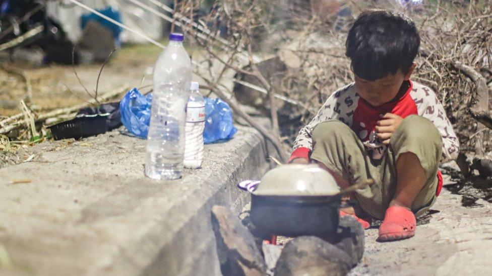 الأطفال السوريون يواجهون أوضاعا صعبة في مخيمات اللاجئين