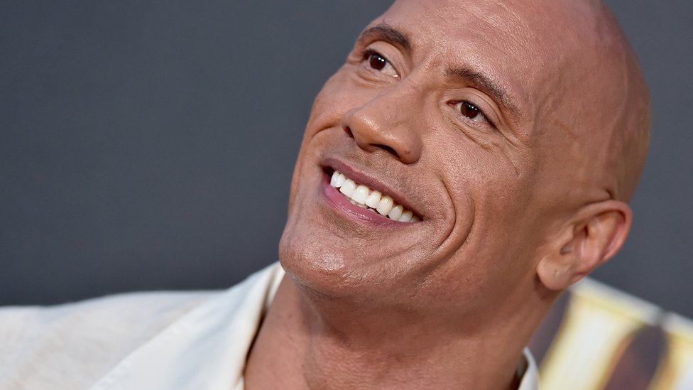 "Dwayne ""The Rock"" Johnson is a fan of a daily shower"