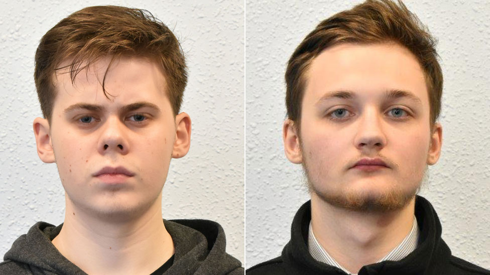 Teenage neo-Nazis jailed over terror offences
