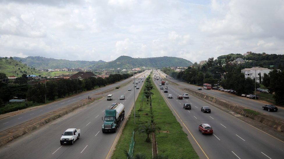 Expressway in Abuja, Nigeria (file photo)