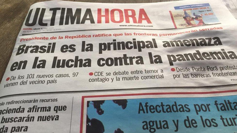 Diario paraguayo Ultima Hora