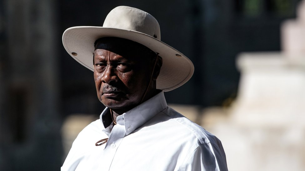 حض الرئيس الأوغندي، يوري موسفني