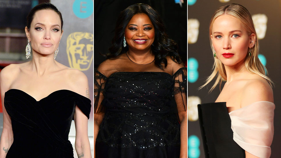Bafta Awards 2018: (Most) stars wear black to bring Time's Up to Britain