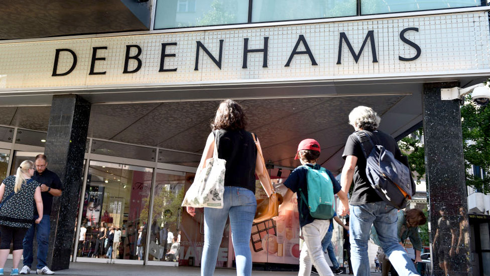 Debenhams warns on profits for third time this year
