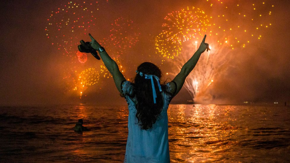 Fin de año en Copacabana
