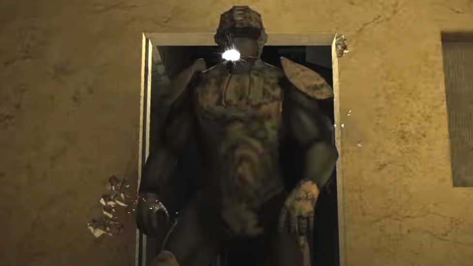 El exoesqueleto Talos en un video promocional.