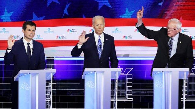 Buttigieg compite con muchos candidatos que tienen más trayectoria y experiencia que él, lo que puede ser visto de forma positiva o negativa por cada elector.