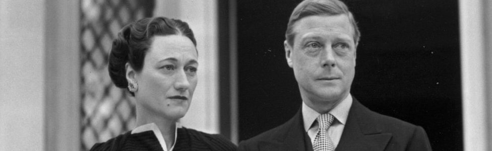 "The Duke and Duchess of Windsor, (formerly Edward VIII and Wallis Simpson) at their home, the Villa La Croe in Cap D""Antibes, Cannes in France"