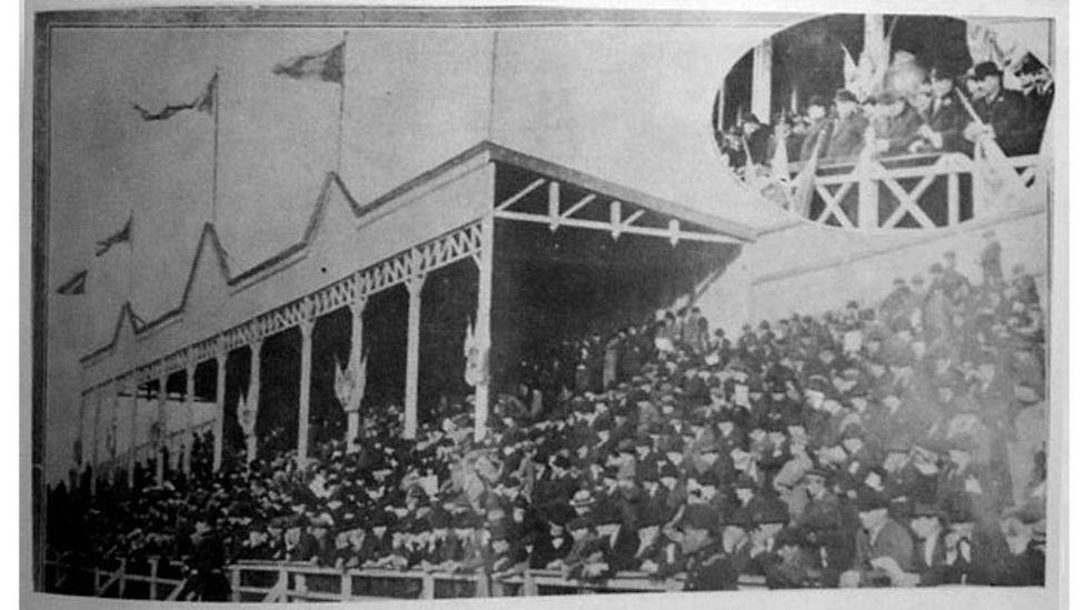 Estadio de Gimnasia y Esgrima de Buenos Aires.