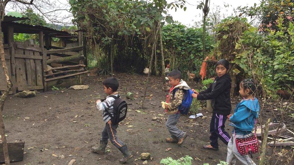 Yalambojoch, Guatemala.