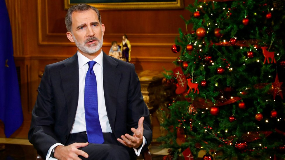 Spain's King Felipe VI makes veiled dig at self-exiled father thumbnail