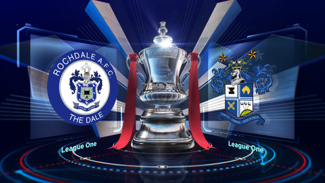 FA Cup: Bury knock Rochdale out in second round
