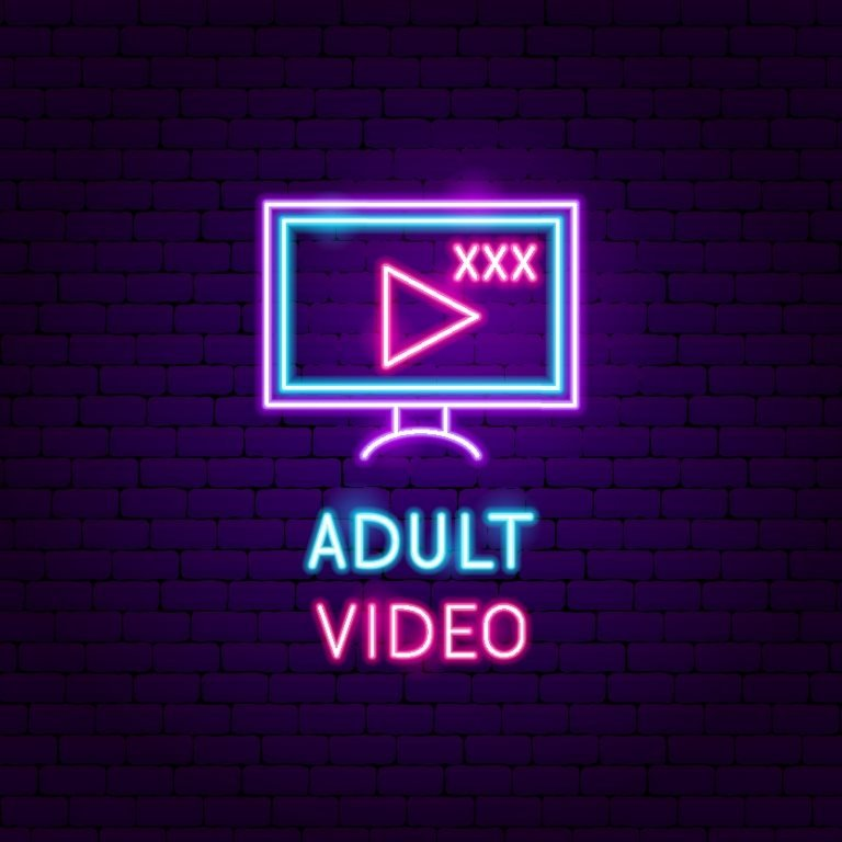 Yetişkinlere özel video içeriği işareti