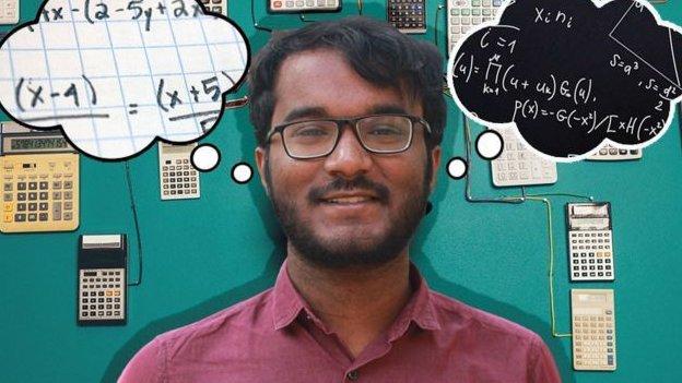 Bhanu Prakash son zamanlarda belli saatlerde değil sürekli rakamları düşündüğünü anlatıyor