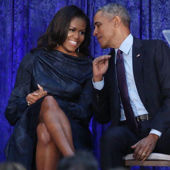 Barak i Mišel Obama