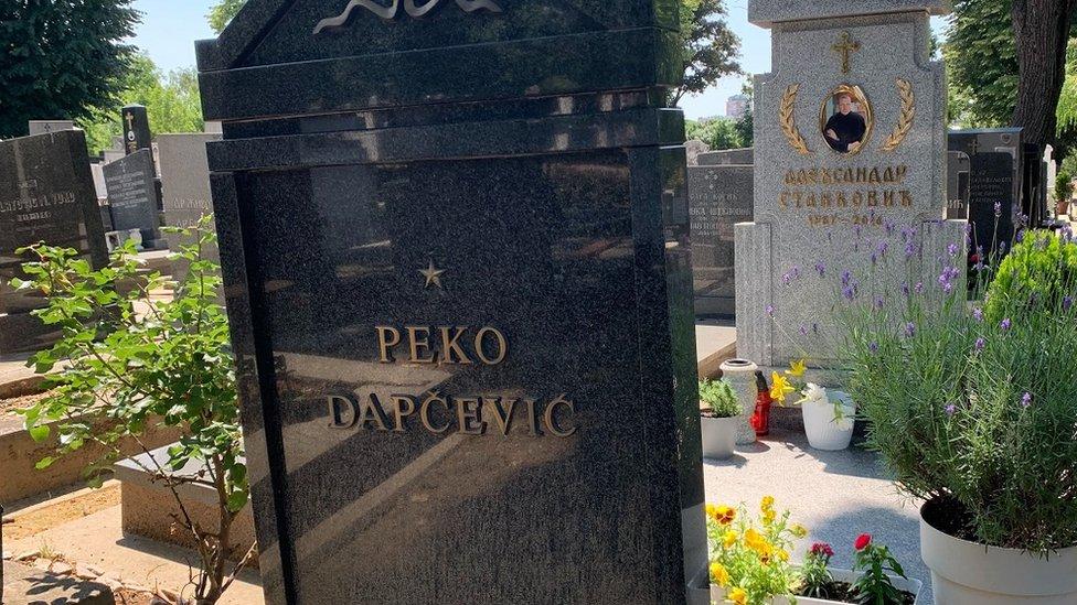 Peko Dapčević sahranjen je na beogradskom Novom groblju