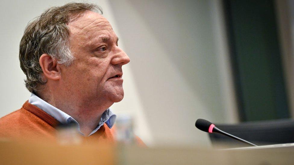 Virologist Marc Van Ranst