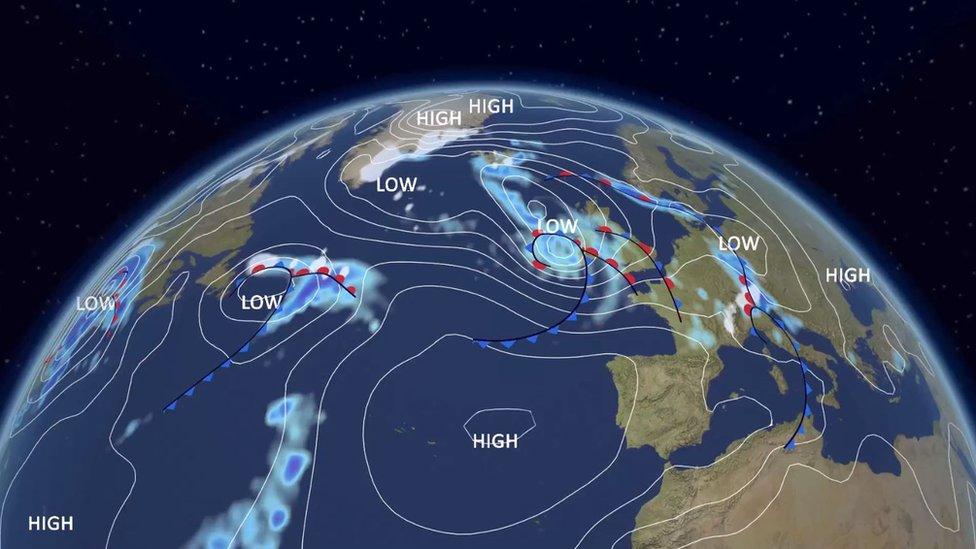 Storm Hannah to bring gales and heavy rain
