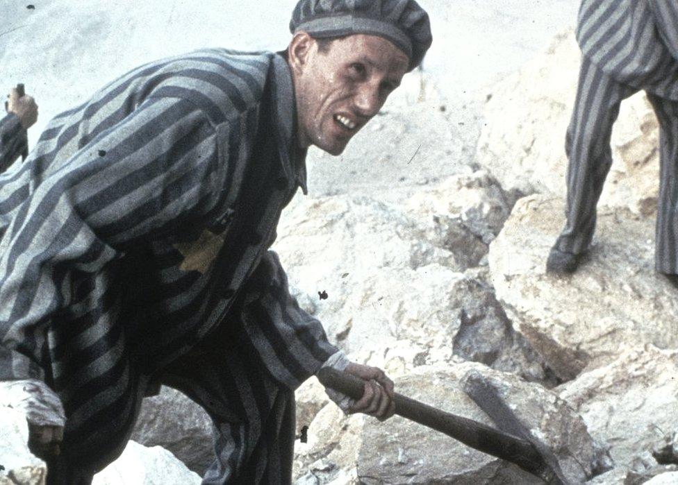 """James Woods en una escena de """"Holocausto"""""""