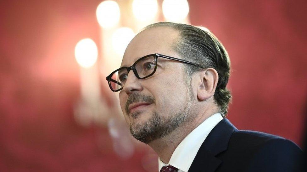 Alexander Schallenberg, new Chancellor of Austria