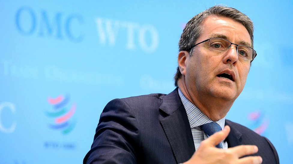 World Trade Organization (WTO) director-general Roberto Azevedo