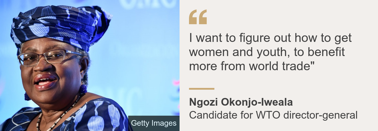 Ngozi Okonjo-Iweala quote box