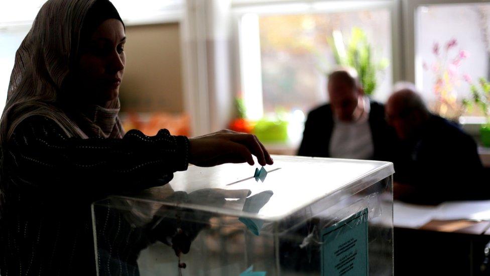 Glasanje u Novom Pazaru