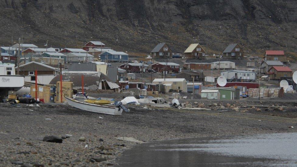 Casas en Nunavut, Canadá