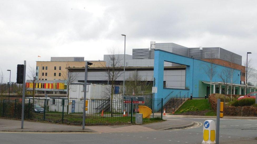 Royal Stoke hospital